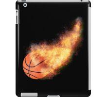 Flaming Basketball iPad Case/Skin