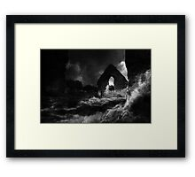 Abbey ruins - prints and stationery only Framed Print