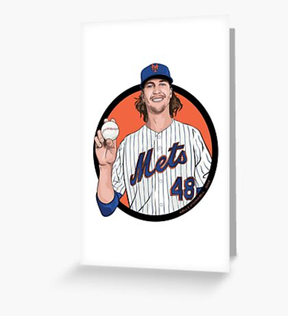 deGrom Greeting Card