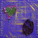 REDREAMING LEAF LOVE by WENDY BANDURSKI-MILLER