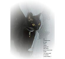 Miss Garfield  Photographic Print