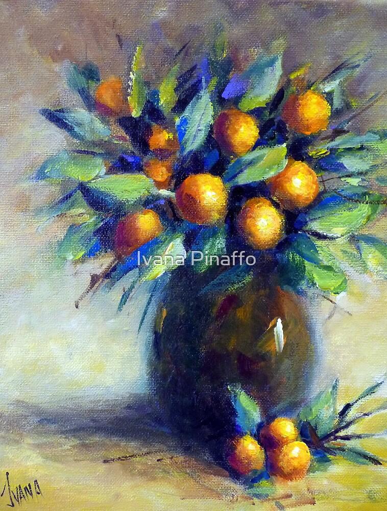 The kumquats in my garden (still life) by Ivana Pinaffo