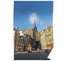 The Grassmarket, Edinburgh, Scotland Poster