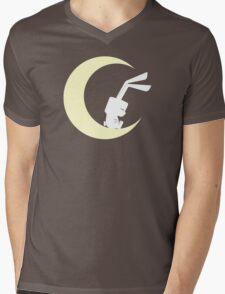 On the Moon Mens V-Neck T-Shirt