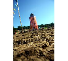 Glastonbury tower Photographic Print