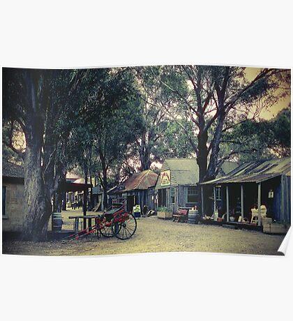 Australian Pioneer Village, Wilberforce Poster