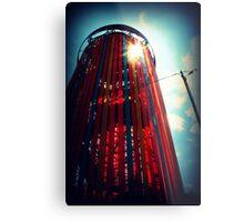 Ribbon Tower. Metal Print