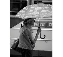 It's Raining #2 Photographic Print