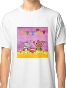Mouse & Bear Party Classic T-Shirt