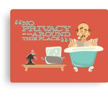 "Walt Disney World - Carousel of Progress - Uncle Orville - ""No Privacy!"" Canvas Print"