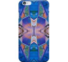 Mirror Blue Reflected iPhone Case/Skin