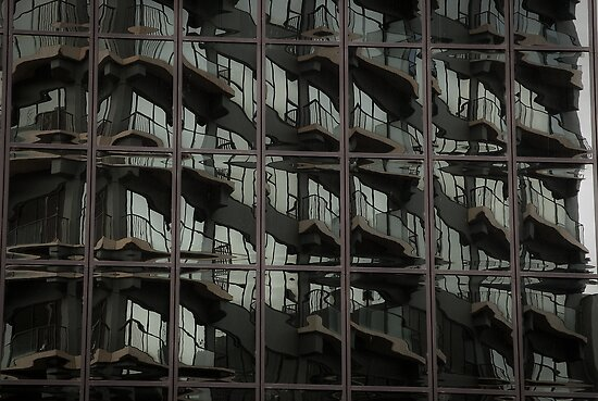 Fractured Apartments by Ivan Kemp
