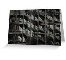 Fractured Apartments Greeting Card