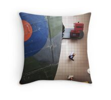 The Three Spots at the Imperial War Museum  Throw Pillow