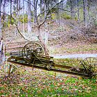 Story Inn Antique Farm Equipment by David Owens