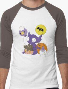 Pokemon Halloween - unshaded version Men's Baseball ¾ T-Shirt