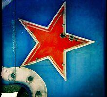 Red Star, Blue Sky by thejourneysofar