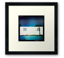 By the Poolside  Framed Print