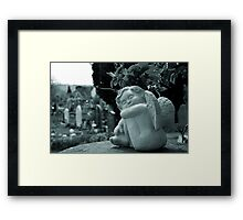Sleeping Cherub Framed Print