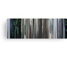 Moviebarcode: The Animatrix 4 Kid's Story (2003) Canvas Print