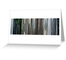 Moviebarcode: The Animatrix 4 Kid's Story (2003) Greeting Card