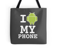 I LOVE Android Design! Tote Bag