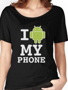 I LOVE Android Design! Women's Relaxed Fit T-Shirt