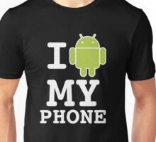 I LOVE Android Design! Unisex T-Shirt
