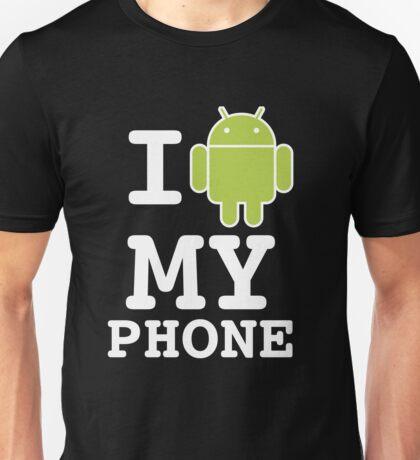 I LOVE Android Design! Unisex T-Shirt