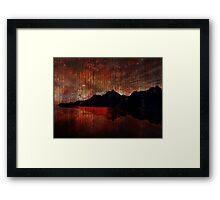 Wicked Isle Framed Print