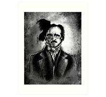 I am the Raven - Edgar Allen Poe Art Print