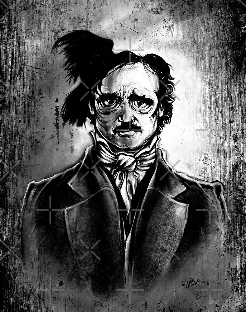 I am the Raven - Edgar Allen Poe by Vincent Carrozza