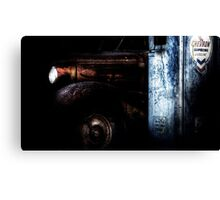 Old Abandoned Car 03 Canvas Print