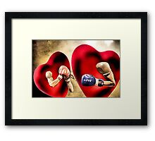 Conflict Resolution Framed Print