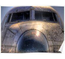 Old Bird -- C54 Skymaster N55CW Poster