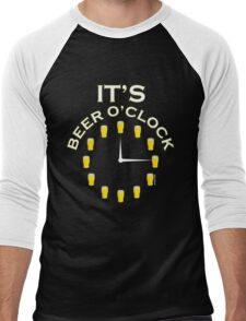 It's Beer O'clock Men's Baseball ¾ T-Shirt