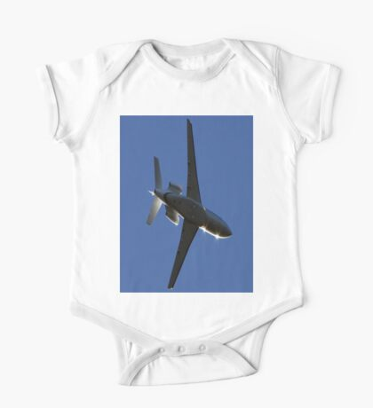 Lear Jet Fly Over One Piece - Short Sleeve