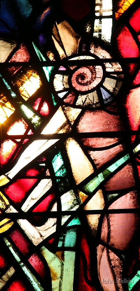 Abstract Stained Glass by John Dalkin