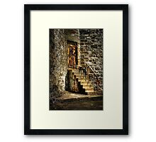 The Locked Door Framed Print