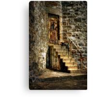 The Locked Door Canvas Print