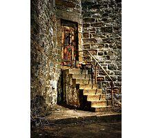 The Locked Door Photographic Print