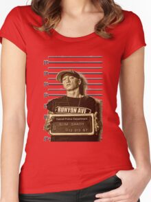 Shady Jail Women's Fitted Scoop T-Shirt