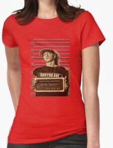 Shady Jail Womens Fitted T-Shirt