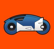 TRON Classic Lightcycle (Blue) Kids Tee