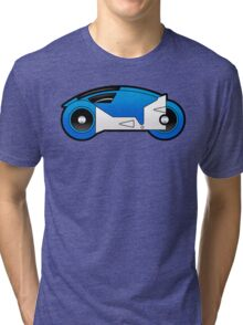 TRON Classic Lightcycle (Blue) Tri-blend T-Shirt