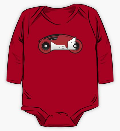 TRON Classic Lightcycle (Red) One Piece - Long Sleeve