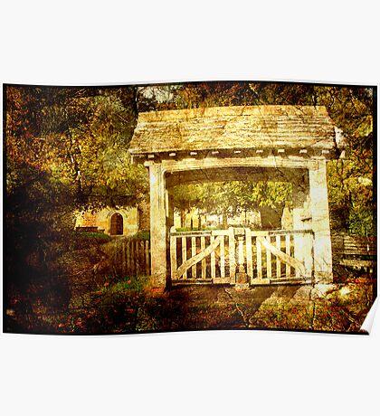 Lychgate Pembury Old Church Poster