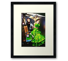 Don't Touch, Framed Print
