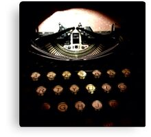 Royal Typewriter - TTV Canvas Print