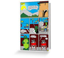 """Rick the chick  """"THE MAGIC SHELL (Il briefing) parte 27"""" Greeting Card"""